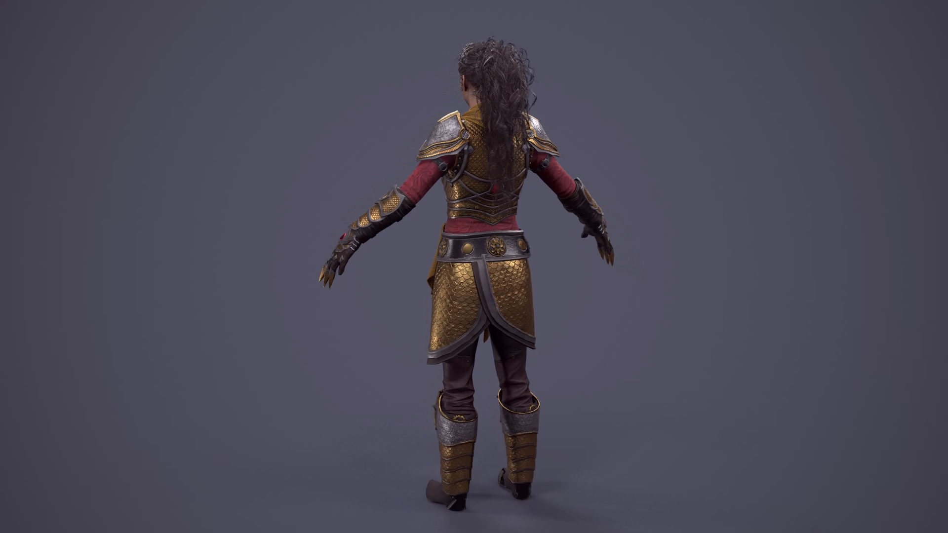 New character hair model revealed